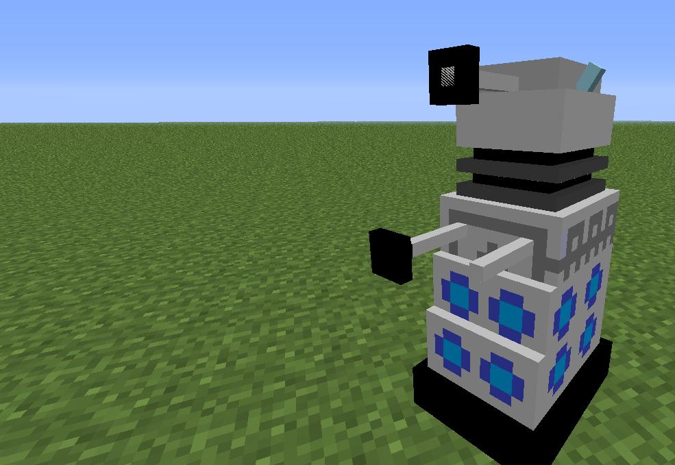 Dalek мод для minecraft 1 5 1